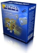 azip box middle فشرده سازی فایل ها با AlphaZIP v1.3.0