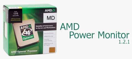 AMD Power Monitor 1.2.1 اندازه گیری میزان الگوی برق مصرفی CPU با AMD Power Monitor 1.2.1