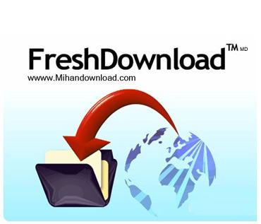 Fresh Download 8.18 مدیریت دانلود فایل از اینترنت با Fresh Download v8