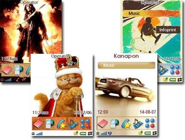 6 theme uiq3 مجموعه 6 تم سونی اریکسون UIQ3