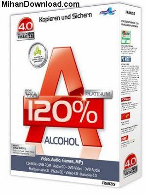 Alcohol%20120%25%201.9.8.7117%20FULL جدید ترین  نسخه نرم افزار Alcohol 120% 1.9.8.7117 FULL