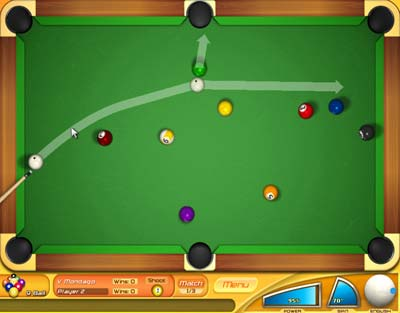 Backspin%20Billiards%201.0 بازی بیلیارد Backspin Billiards 1.0