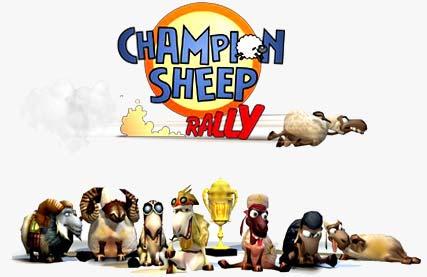 Champion%20Sheep%20Rally بازی هیجان انگیز رالي بزرگ گوسفند ها Champion Sheep Rally