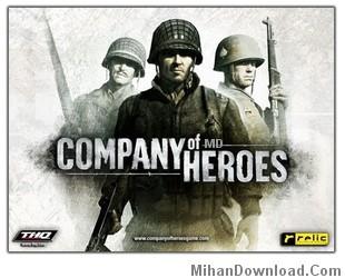 Company of Heroes بازي جنگي استراتژيك موبايل جاوا  Company of Heroes
