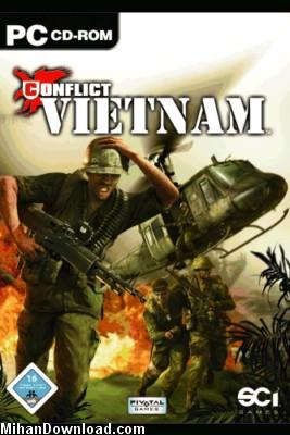 Conflict%20vietnam%5BMihanDownload بازي سرتاسر هيجان و اكشن جنگ ويتنام Conflict vietnam