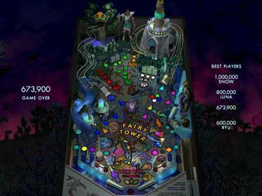 Fairy%20Tower%20v1.1%20pinball%20game بازی پین بال قلعه جادوگران Fairy Tower v1.1 pinball game