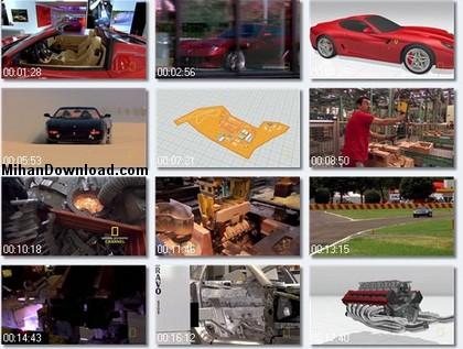 Ferrari فيلم مستند تاريخچه و انواع مدل هاي اتومبيل هاي فراري  Ultimate Factories Ferrari