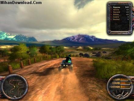 GIO Bull Quadro ATV QUAD Bike بازي كامپيوتر رالي موتور ها ATV Quadro Racing