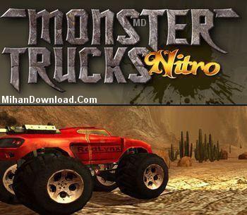 Monster%20Trucks%20Nitro%20v1.0%5Bwww.MihanDownload.Com%5D بازي كامپيوتري مسابقات مانستر نيترو (ماشين هاي بزرگ) Monster Trucks Nitro v1.0