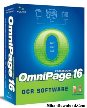 Nuance OmniPage Professiona نرم افزار تبديل فايلهاي سند OmniPage Professional v16.0