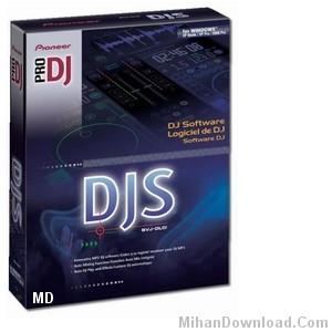 Pioneer%20DJS%5BMihanDownload.Com%5D نرم افزار قدرتنمد  تركيب فايل هاي صوتي و كار بر روي انها   Pioneer DJS 1.601 Pro