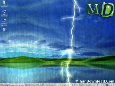 Rainy Screensaver اسكرين سيور جديد باران  Rainy ScreenSaver