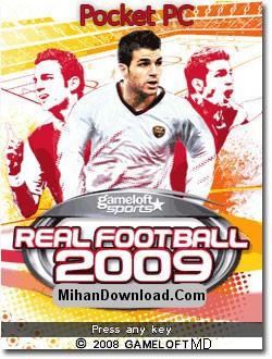 Real Football 2009 PPC بازی موبايل پاكت پي سي فوتبال  Real Football 2009