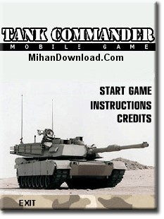 Tank%20Commander%20flash%20game%20%5Bwww.MihanDownload.Com%5D دانلود بازی فلش تانک جديد و كم حجم
