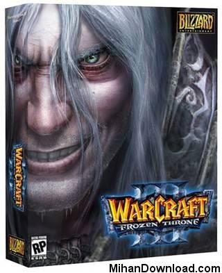 WARCRAFT2008 بازی جدید کامپیوتری استراتژیک Warcraft III Frozen Throne