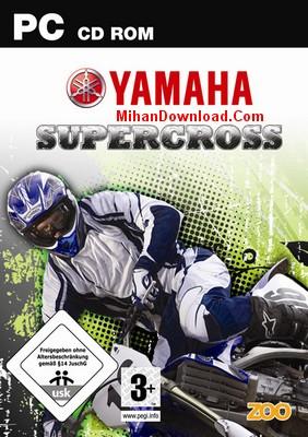 Yamaha%20Supercross%202009 دانلود بازی كامپيوتر ياماها موتوركراس كم حجم شده Yamaha Supercross 2009 Rip