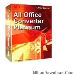 alloffice نرم افزار تبدیل فرمت فایل های office به فرمت های مختلف All Office Converter Platinum 6.0