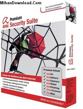 avira نرم افزار انتي ويروس اويرا Avira Premium Security Suite 9.0.0.355