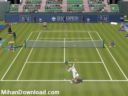 dream match tennis pro service ace%5Bwww.MihanDownload.com%5D 2 بازی کامپیوتری جذاب تنیس Dream Match Tennis Pro 2.09