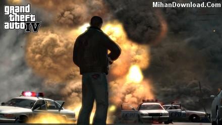 gta 4 بازي جي تي اي 4 در موبايل با فرمت جاوا Grand Theft Auto 4