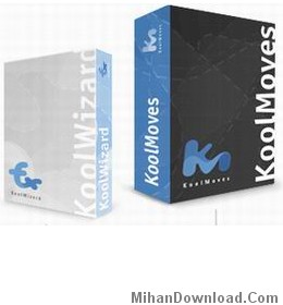 kmboxes hm348 نرم افزاری قدرتمند براي طراحی و ساخت وب سایت  به صورت فلش   KoolMoves v7.0