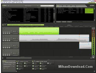 mixmeisterfusionv7020tqxi4 نرم افزار ميكس ترکیب صدا و انجام امور صوتی MixMeister Fusion 7.3.5.1