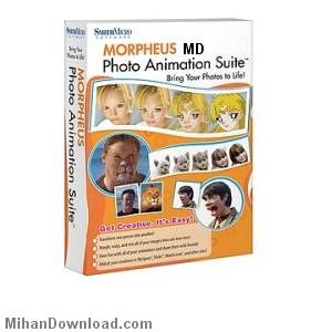 morpheus%5BMihanDownload.Com%5D نرم افزار ايجاد تغييرات بر روي تصوير چهره به شكل خنده دار   Morpheus Photo Animation Suite v3.10