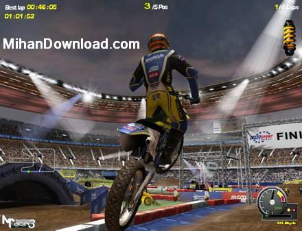 motor دانلود مستقیم بازی موتور سواری جدید با گرافیک بالا MotoRacer 3.0