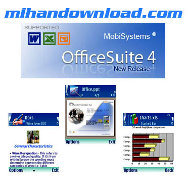 OfficeSuiteS60 نرم افزارMobiSystems OfficeSuite v4.0