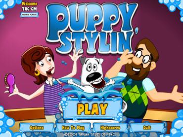 Puppy Stylin1a بازی زیبا ی Puppy Stylin