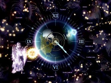 Zodiac اسکرین سیور Zodiac Clock 3D Screensaver