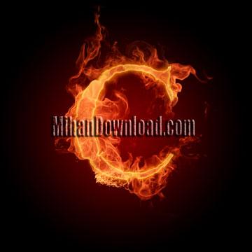 aTADfire عکس های آتشین از حروف انگلیسی