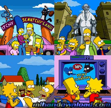 simpson1 بازی The Simpsonsبا فرمت جاوا برای نوکیا سری 60 ورزن3
