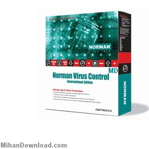 normanvirouscontorol%5BMihanDownload.Com%5D نرم افزار قدرتمند انتي ويروس براي حمايت سيستم شما   Norman Virus Control v5.99