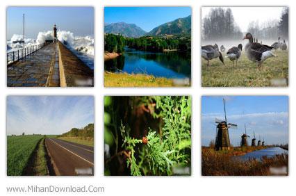 25 Varios Wallpapers Pack1 25 تصویر پس زمینه با موضوع طبیعت   پک 1