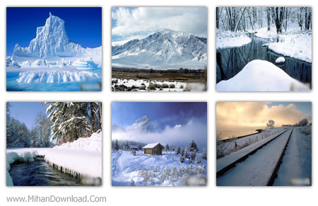 33 Winter Wallpapers 33 پس زمینه با موضوع زمستان