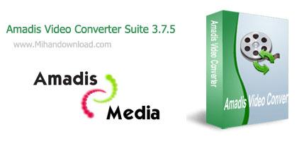 Amadis Video Converter Suite 3.7.5 نسخه جدید نرم افزار تبدیل ویدیو ها Amadis Video Converter Suite 3.7.5
