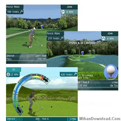 screen shot golf بازی گلف  موبايل براي نوكيا ProSeriesGolf N Gage 2 games