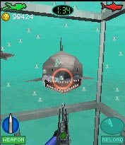05 jaws 3d دانلود بازي بسيار مهيج و مرحله اي جاوا حمله كوسه ها Jaws 3d