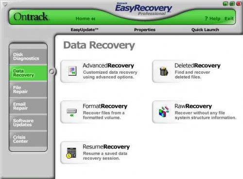1181966110 ontrack آسانترین نرم افزار باز یابی اطلاعات کامپیوتر easy recovery