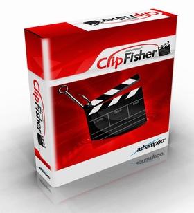 1213359921 2cik19s Ashampoo ClipFisher v1.08 ابزاری برای ذخیره سازی کلیپ های آنلاین