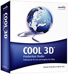 1pxll2 Ulead COOL 3D Production Studio ابزاری برای ایجاد تصاویر