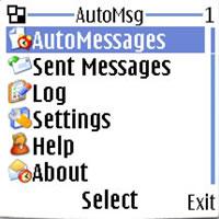 6168 دانلود نرم افزار جاوا ارسال اتوماتیک اس ام اس به خودتان یا دیگران Auto Msg