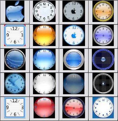 65127 دانلود ساعتهاي آنالوگ بسيار زيبا براي كامپيوتر
