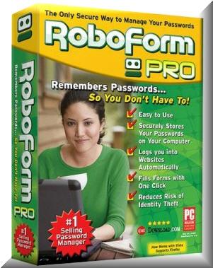 668421037 دانلود نرم افزار ذخيره سازي خودكار پسورد فرمها و برنامه ها ai roboform