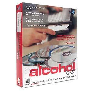 Alcohl نرم افزار محبوب رایت سی دی و دی وی دی Alcohol 120% Black Edition 4.0