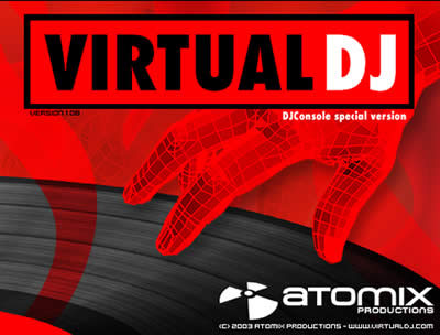 Atomix  نرم افزار میکس Atomix Virtual DJ Professional 5.0 rev4