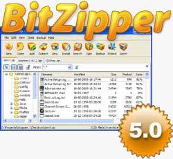 BitZipjjj فشرده ساز قوی BitZipper 5.0.2