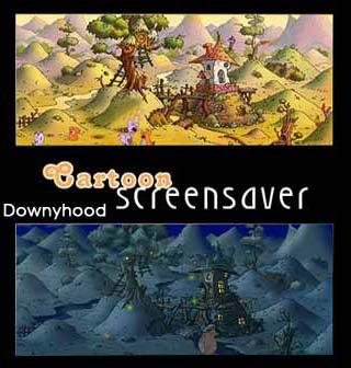 Carto اسکرین سیور کارتون دانی هود Cartoon Downyhood Screensaver 1.0