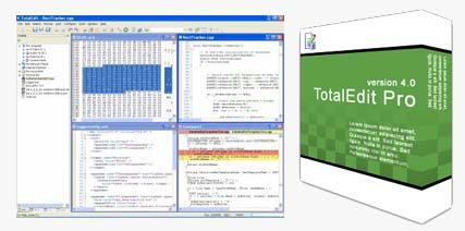 CoderTool برنامه ای برای مدیریت بر پایگاه های داده CoderTools TotalEdit v4.0